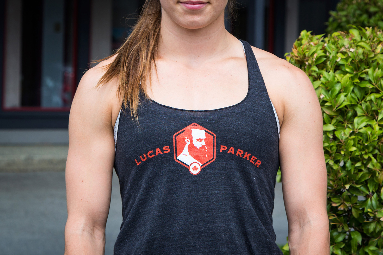 Lucas Parker Team Tank: Women´s Tri-Black