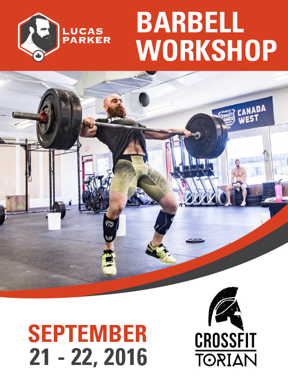 Lucas Parker Barbell Workshop CrossFit Torian Brisbane Australia