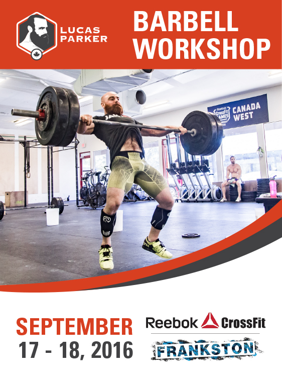 Lucas Parker Barbell Workshop Reebok CrossFit Frankston Melbourne Australia