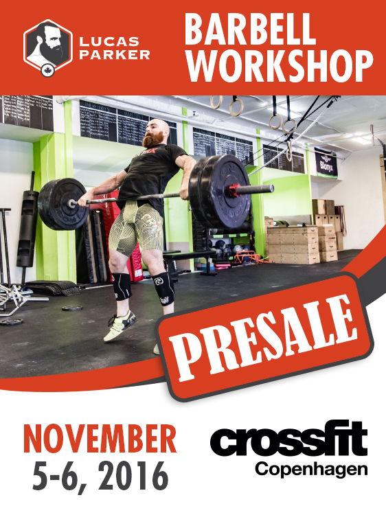 Lucas Parker Barbell Workshop - CrossFit Copenhagen