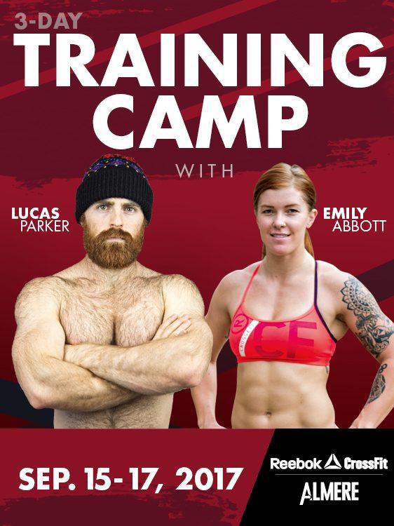 Lucas Parker & Emily Abbott Training Camp - Reebok CrossFit Almere