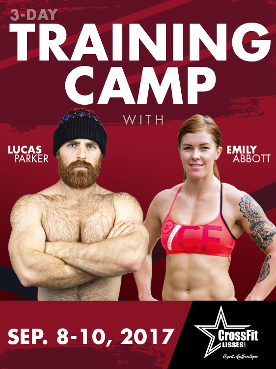 Lucas Parker & Emily Abbott Training Camp - Crossfit Lisses