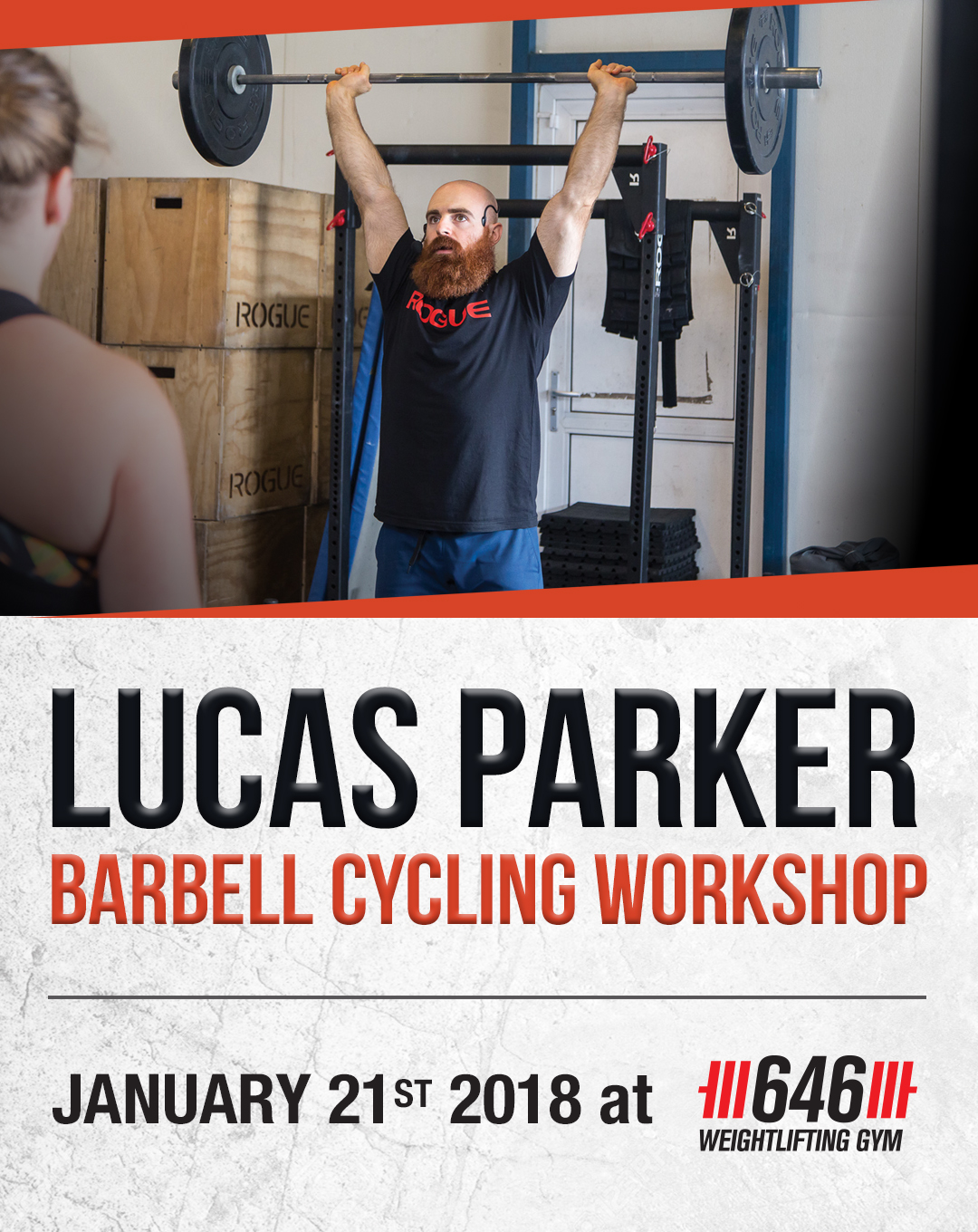 Lucas Parker Barbell Cycling Workshop - 646 Weightlifting