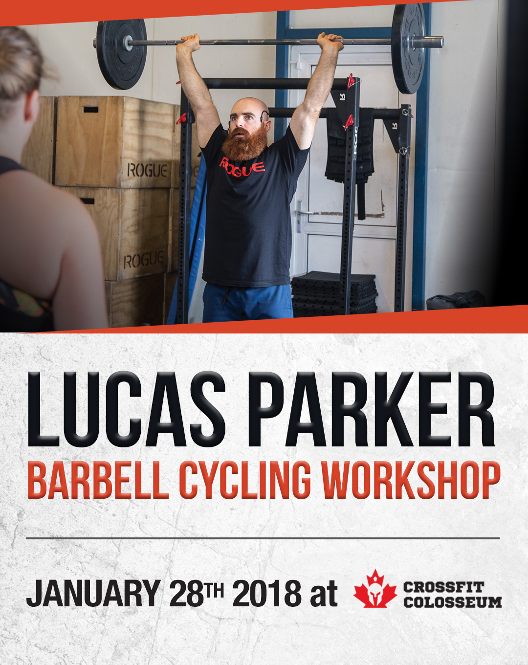 Lucas Parker Barbell Cycling Workshop - CrossFit Colosseum