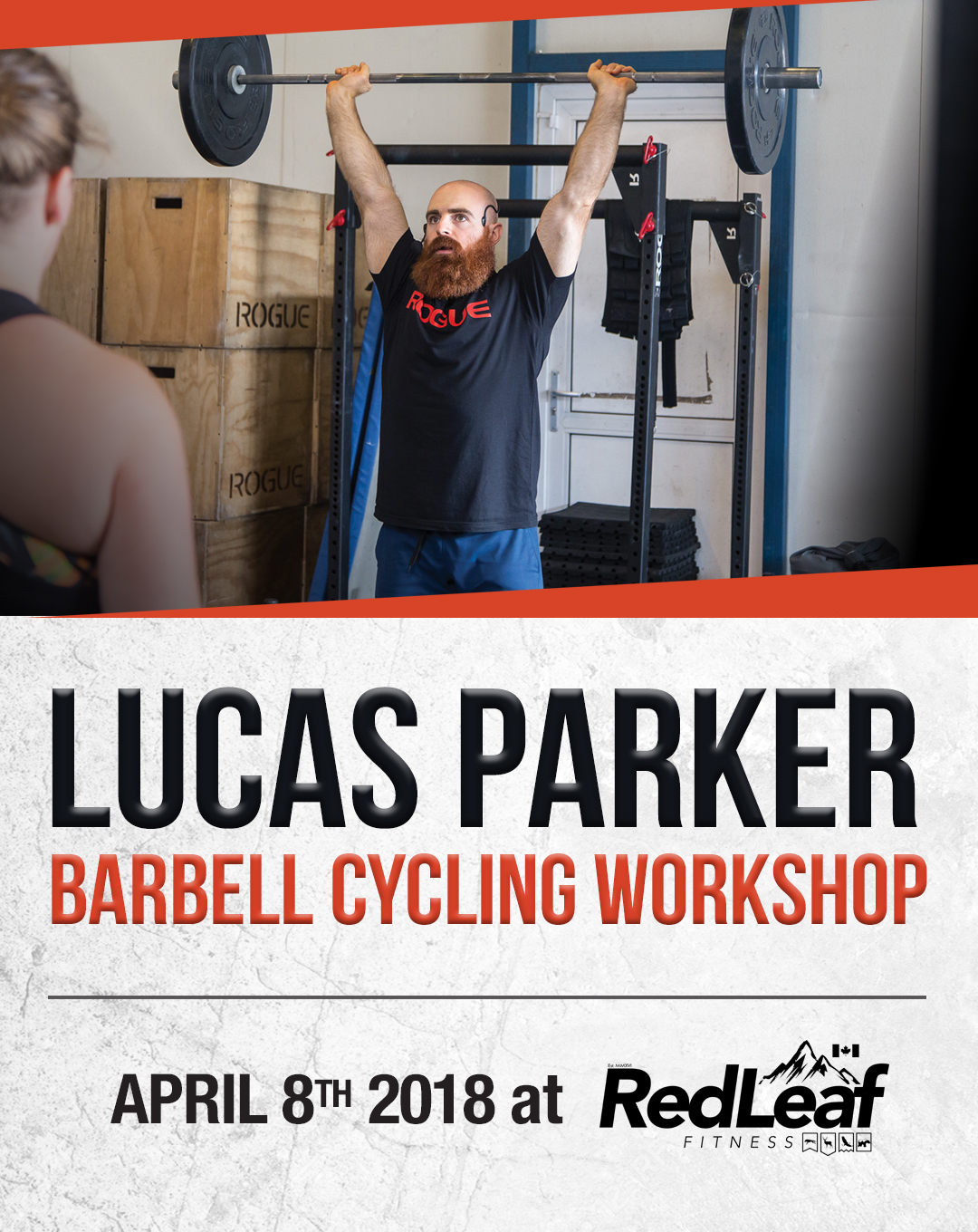 Lucas Parker Barbell Cycling Workshop - Red Leaf