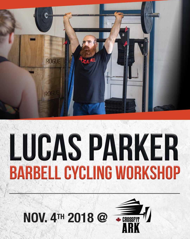 Lucas Parker Barbell Cycling Workshop