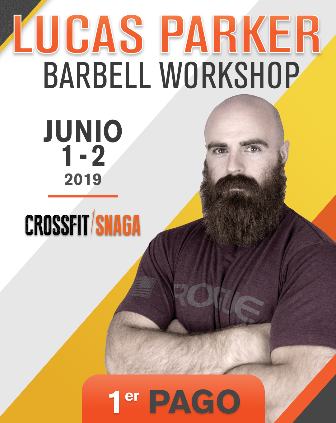 Lucas Parker Barbell Workshop - Crossfit Snaga Escazú