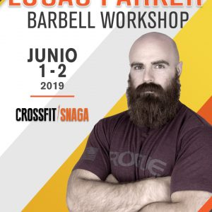 Lucas Parker Barbell Workshop - Crossfit Snaga Escazú (Presale)