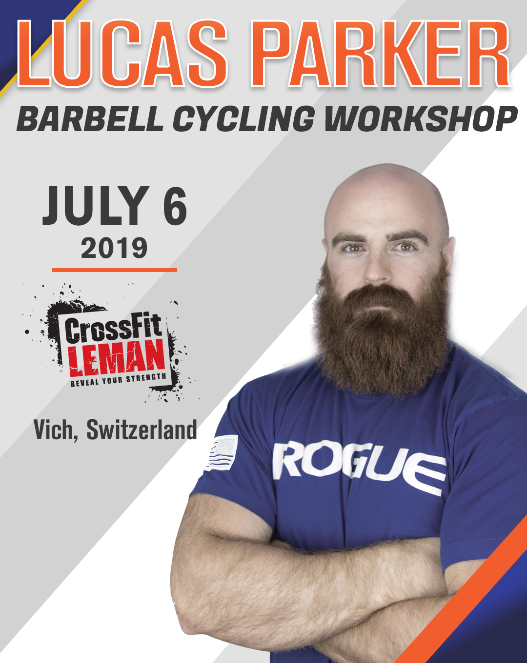 Lucas Parker Barbell Cycling Workshop - CrossFit Leman