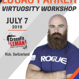 Lucas Parker Virtuosity Workshop - CrossFit Leman