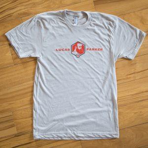 Lucas Parker Team T-Shirt: Men´s New Silver