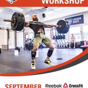 Lucas Parker Barbell Workshop Reebok CrossFit Frankston Melbourne Australia